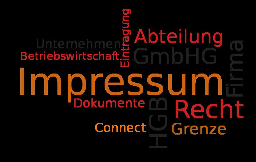 Impressum voor Duitse website